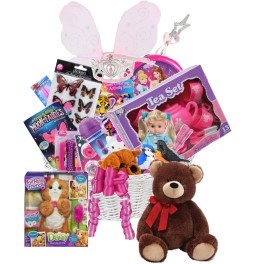 Surprise me princess gift basket